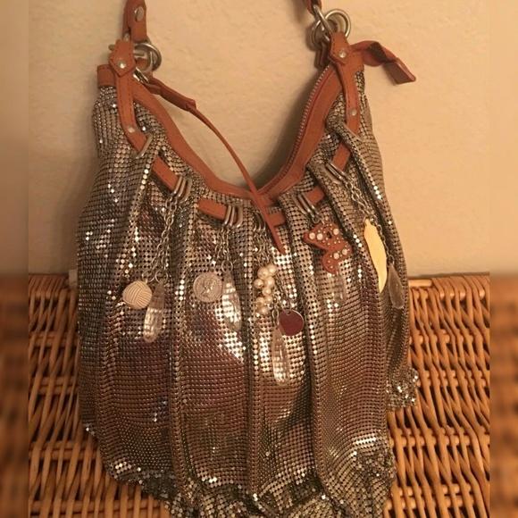 f6e2e5c26db Cole Haan Bags | Silver Mesh G Series Handbag | Poshmark